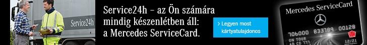 Válassza a Service 24 szolgáltatását!